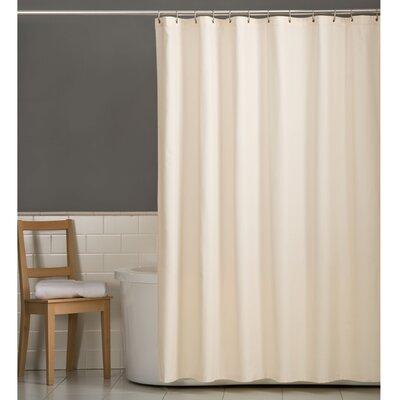 Rawles Microfiber Fabric Shower Curtain Color: Bone
