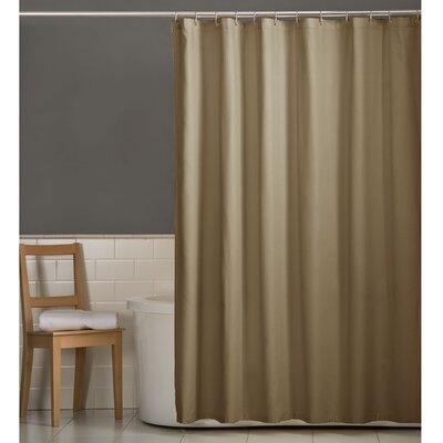 Rawles Microfiber Fabric Shower Curtain Color: Linen