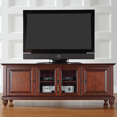 "Allingham Low Profile 60"" TV Stand Color: Vintage Mahogany"