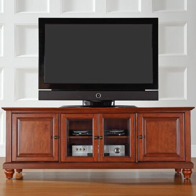 """Allingham Low Profile 60"""" TV Stand Color: Classic Cherry"""