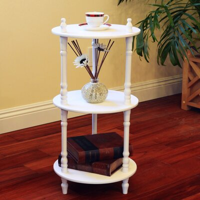 Stevyn Multi-Tiered Plant Stand Color: White