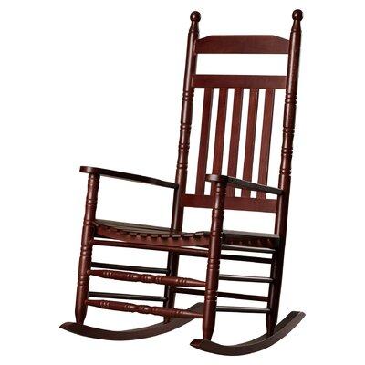 Ballett Adult Rocking Chair Frame Color: Cherry