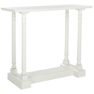 Grobbam Console Table Color: Distressed Cream