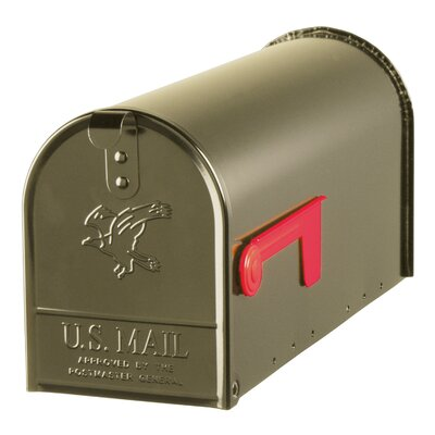York Place Post Mounted Mailbox Color: Bronze