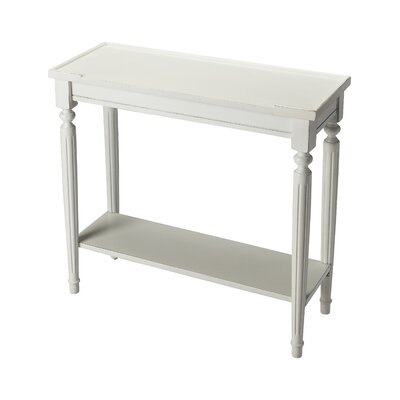 Tipton Console Table Color: Cottage White