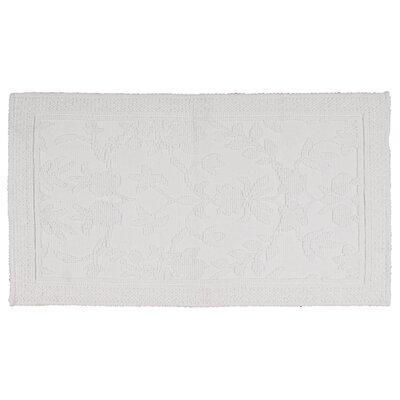 Bloomfield Hills Bath Mat Color: White