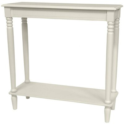 Adelphi Design Console Table Color: White
