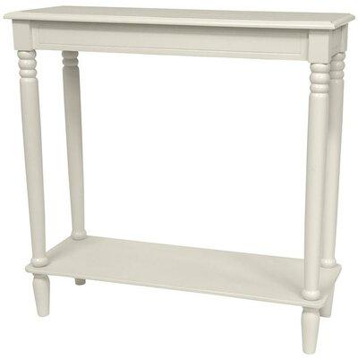 Adelphi Design Console Table Color: White
