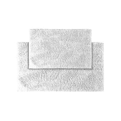 Roanoke Bath Rug Color: Whites