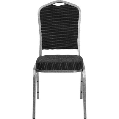Orland Crown Back Stacking Banquet Chair with Vein Frame Guest Chair