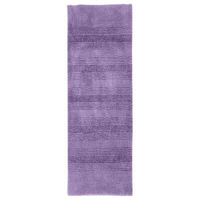 "Herleston Brette Bath Rug Size: Runner 1' 10"" x 5', Color: Purple"