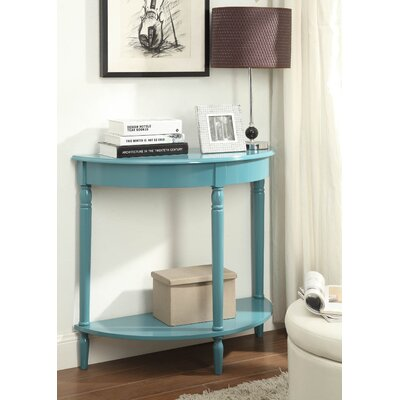 Carlisle Console Table Color: Blue