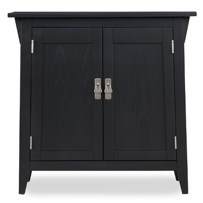 Apple Valley Foyer Cabinet/Hall Stand Color: Slate/Nickel