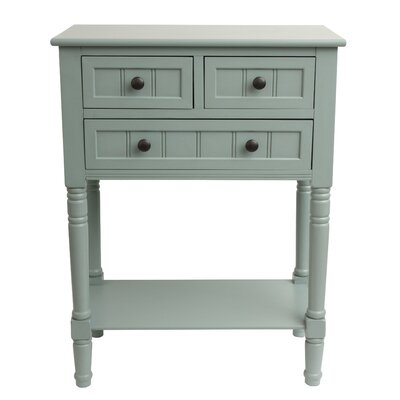 Wedgewood Console Table Color: Antique Iced Blue