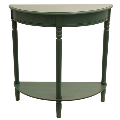 Hadenson Console Table Color: Antique Teal
