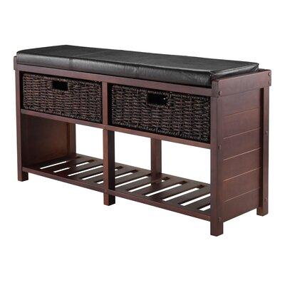 Bliven Cushion Storage Bench