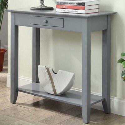 Williams Console Table Color: Gray