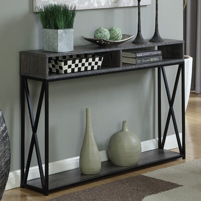 Abbottsmoor Console Table Color: Weathered Gray