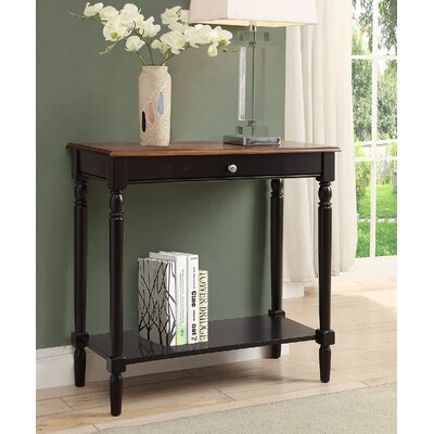Carlisle Console Table Color: Dark Walnut