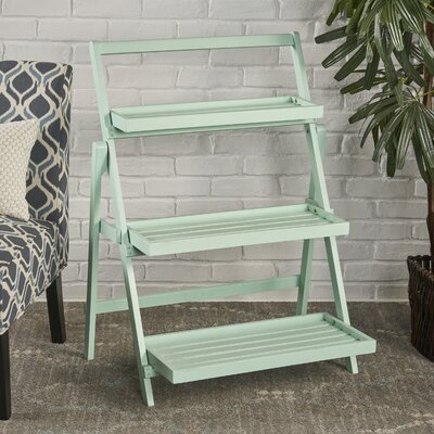 Fenimore Indoor Multi-Tiered Plant Stand Color: Light Mint