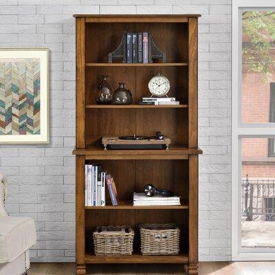 Roberge Standard Bookcase Finish: Tuscany Oak