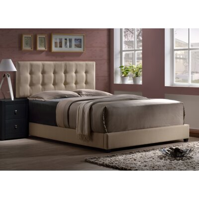 Varick Gallery Upholstered Panel Bed