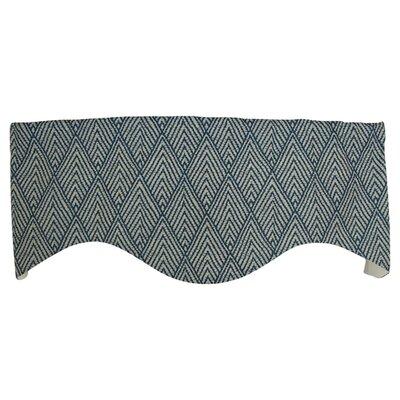 Hanover Tahitian Stitch 50 Quot Curtain Valance Wayfair