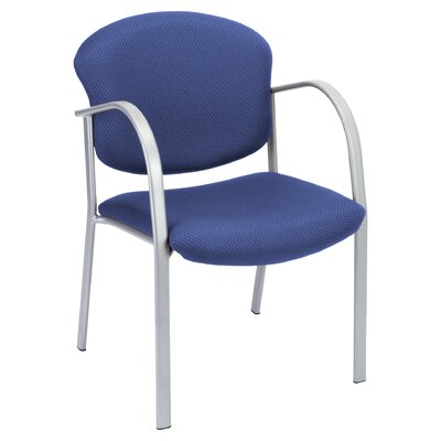 Oleanna Guest Arm Chair Seat Finish: Ocean Blue Fabric