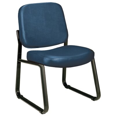 Payakumbuh Armless Guest / Reception Chair Seat Color: Navy