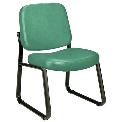 Payakumbuh Armless Guest / Reception Chair Seat Color: Teal