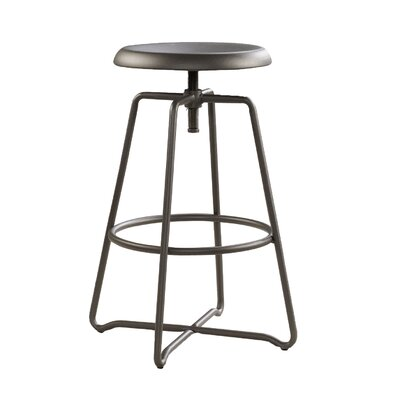 Emmalee Adjustable Height Swivel Bar Stool