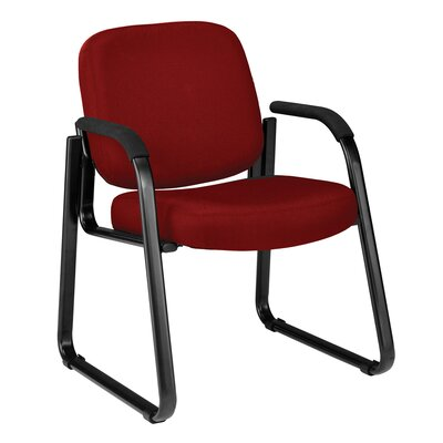 Jude Guest Arm Chair Color: Wine