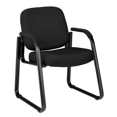 Jude Guest Arm Chair Color: Black