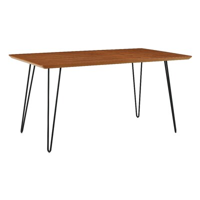 Chretien Hairpin Dining Table