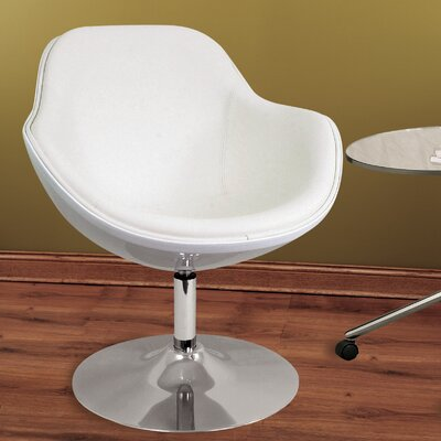 Orbison Lounge Chair Upholstery: Solid White