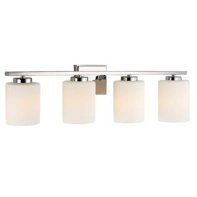 Vanity With Studio Lights : Brayden Studio Brazelton 4 Light Bath Vanity Light & Reviews Wayfair