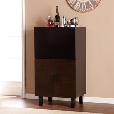 Brayden Studio Bar Accent Cabinet