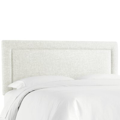 Cansler Border Upholstered Panel Headboard Size: California King, Upholstery: Zuma Pumice