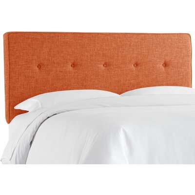 Cambra Tufted Upholstered Panel Headboard Size: Queen, Upholstery: Zuma Navy