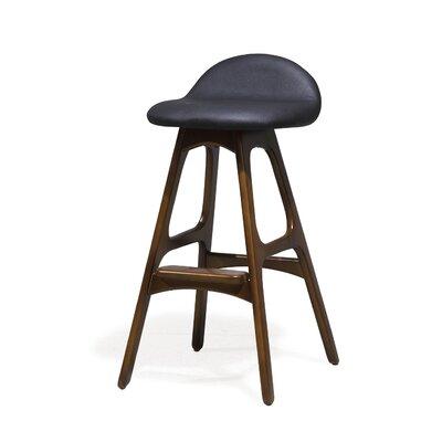"Chau 29"" Bar Stool Upholstery: Black"