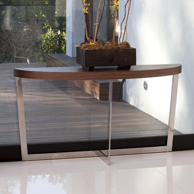 Coyer Console Table Color: Walnut