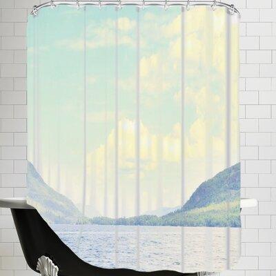 Mina Teslaru Greetings from Nowhere 2 Shower Curtain