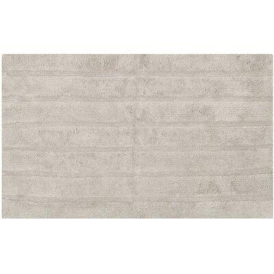 "Tauber Master Bath Rug Size: 2'3"" x 3'9"", Color: Grey"