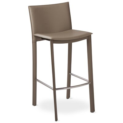 "Berggren 30"" Bar Stool Color: Gray"