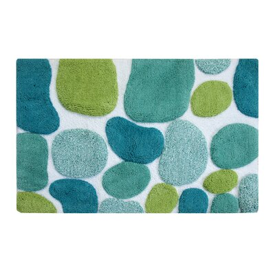 Gallager Brights Bath Runner Color: Pool Blue