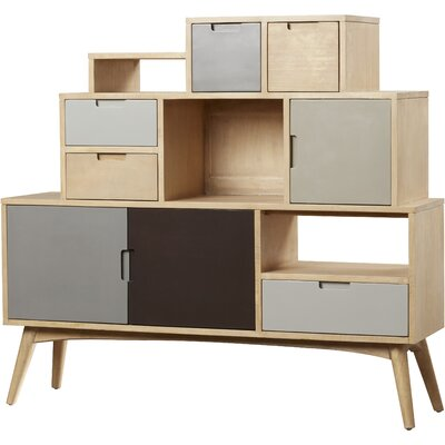 Polen Abstract Accent Cabinet