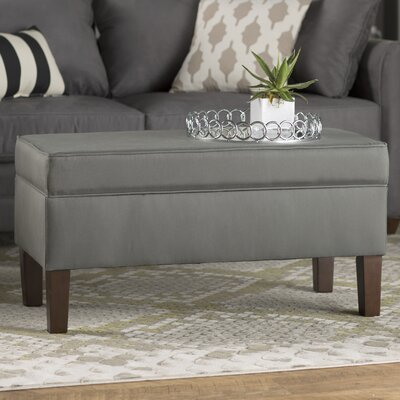 Storage Bench Color: Gray