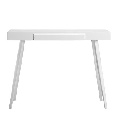 Buettner Console Table Table Top Color: White