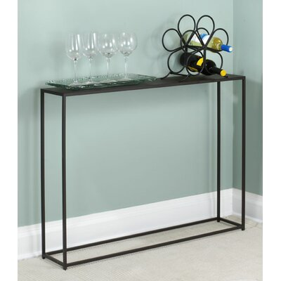 "Woodbury Console Table Size: 29.5"" H x 40"" W x 8"" D"