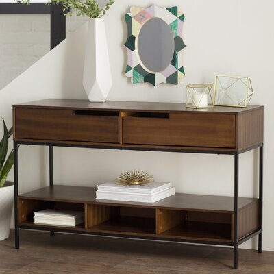 Brayden Studio Pagan Console Table